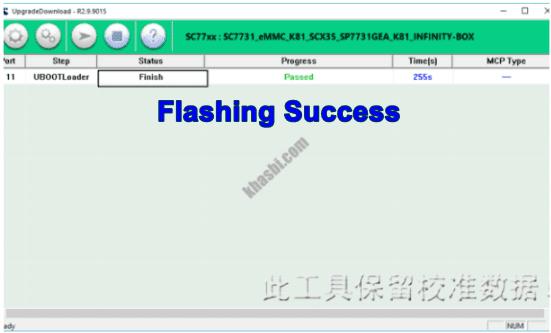 flash evercoss u6b finish