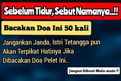 Doa Pelet Tepuk Bantal, Baca Doa ini Sebelum Tidur