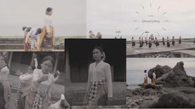 Tarian Lampah Nini dari Launching We Love With Love Bali