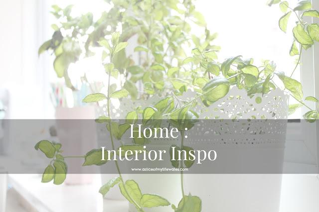 home interior inspiration blog post
