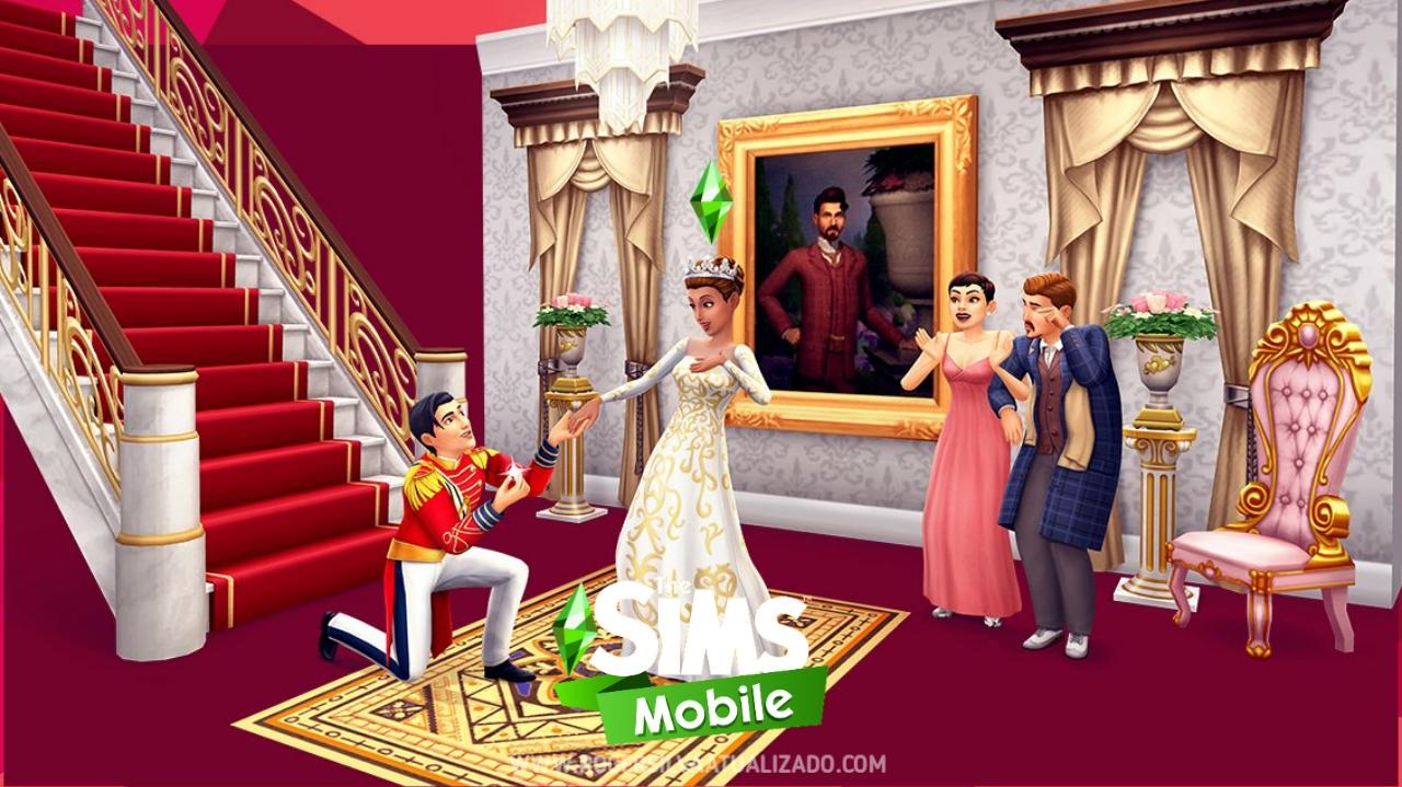 The Sims Mobile apk 26.0.0.112050 dinheiro infinito