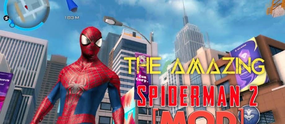 Free Download The Amazing Spiderman2 v1.2.8 Full Mod   Apk+Obb