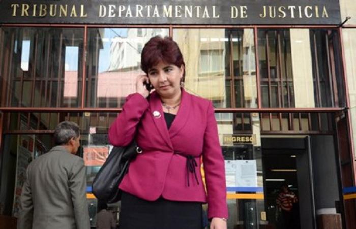 La abogada todavía figura como candidata y su nombre estará en las papeletas del domingo / ARCHIVO APG