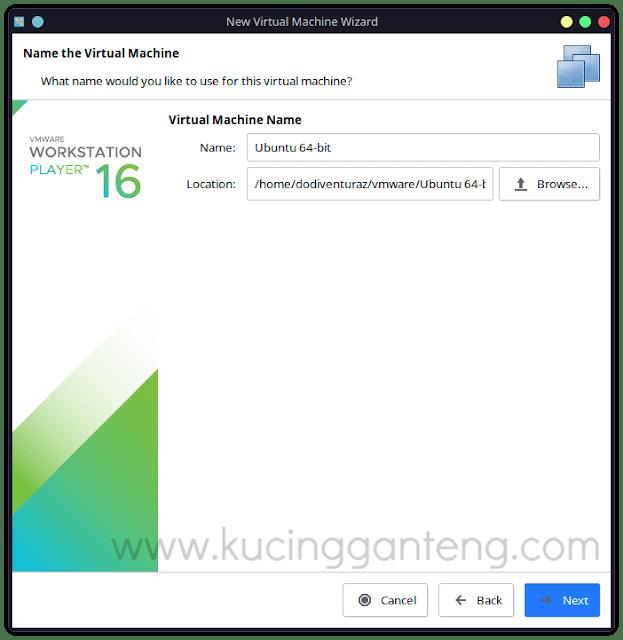 Cara Membuat Virtual Machine di VMware Workstation Player