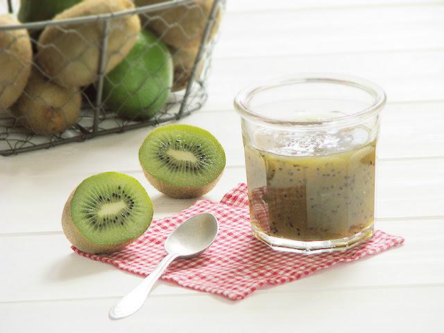 Confiture de kiwis et de citrons verts.