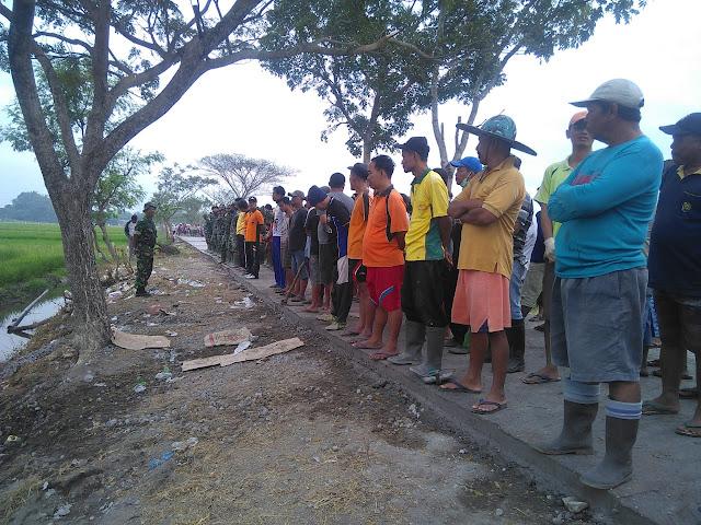 Gotong Royong warga dan TNI Terus Dipacu di TMMD Kodim Klaten