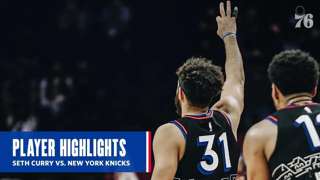 Seth Curry 20pts vs NYK | March 16, 2021 | 2020-21 NBA Season