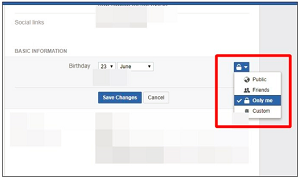 Facebook Birthday - How To Facebook Hide Birthday