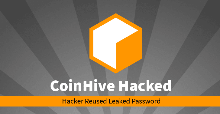 Hacker Hijacks CoinHive's DNS to Mine Cryptocurrency Using Thousands of Websites