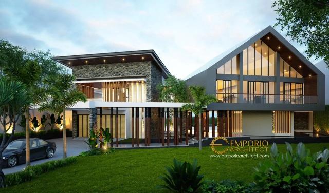 Villa II Modern 2 Lantai Milik Bapak Jafar