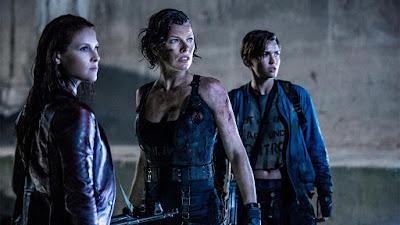 لقطة من فيلم Resident Evil