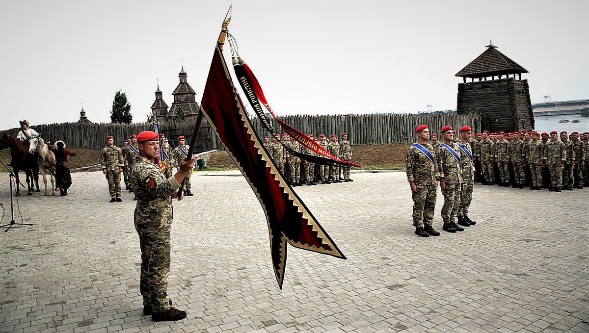 55-та артбригада отримала мотиваційний прапор