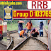 RRB/RRC GROUP D LEVEL 1 POSTS 103769 RECRUITMENT 2019