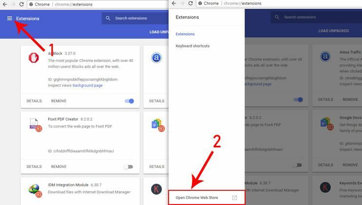 1 Cara mudah membuka situs yang diblokir di Google Chrome melalui sistem operasi windows 7