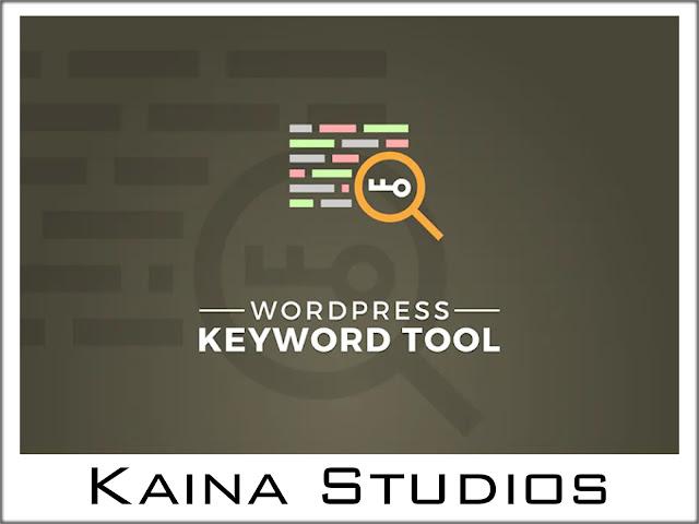 Wordpress Keyword Tool - Keyword research
