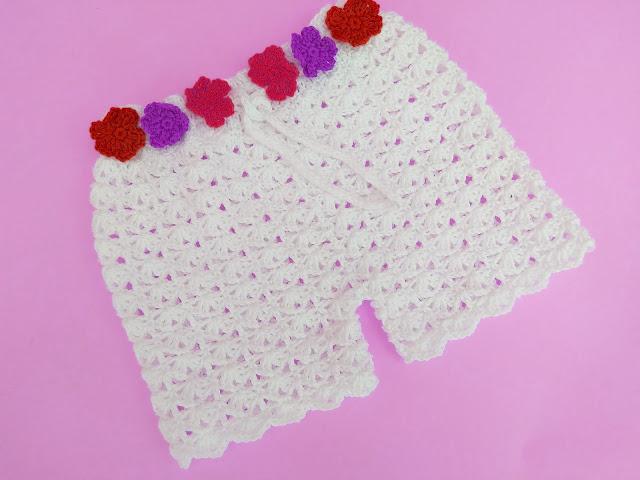 6 - Crochet Imagen Shorts de verano a crochet y ganchillo por Majovel Crochet