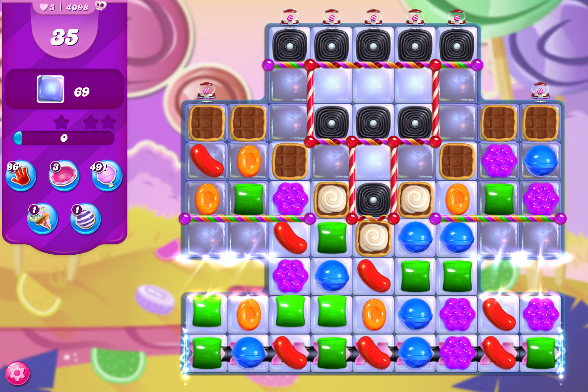 Candy Crush Saga level 4098