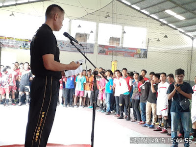 64 Team Futsal Bertanding di Tournamen Futsal Kapolres Cup