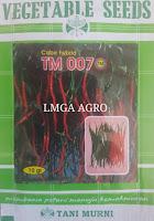 CABE TM 007, BENIH CABE TM 007, CABE TM 007 HARGA MURAH, CARA MENANAM CABE TM 007, LMGA AGRO