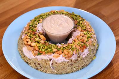 أرز الأوزي بالدجاج
