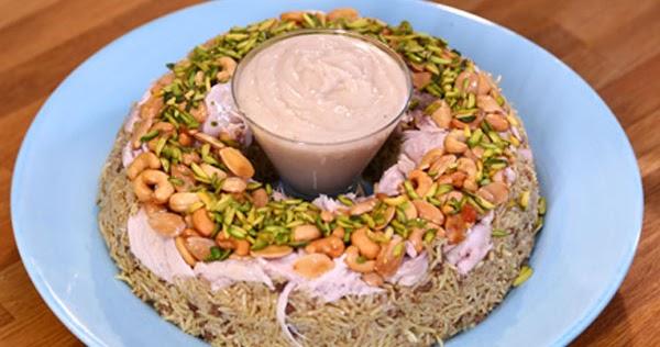 أرز الأوزي بالدجاج من الشيف منال العالم