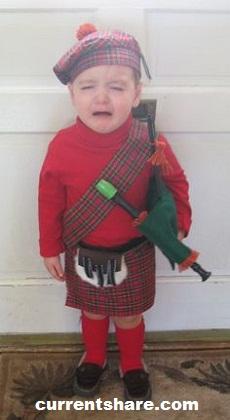 Tartan Day Baby Costumes