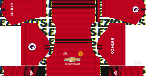 dd68fd1b1 Manchester United Kits 2019 2020 Adidas - Dream league Soccer 2019 Kits -  KITS FTS