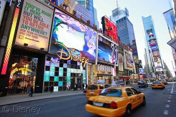 Disney Store em Nova Iorque