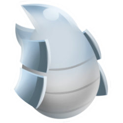 Appearance of Chrome Dragon when egg