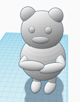 final design of teddy bear
