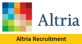 Altria Group Recruitment 2017-2018