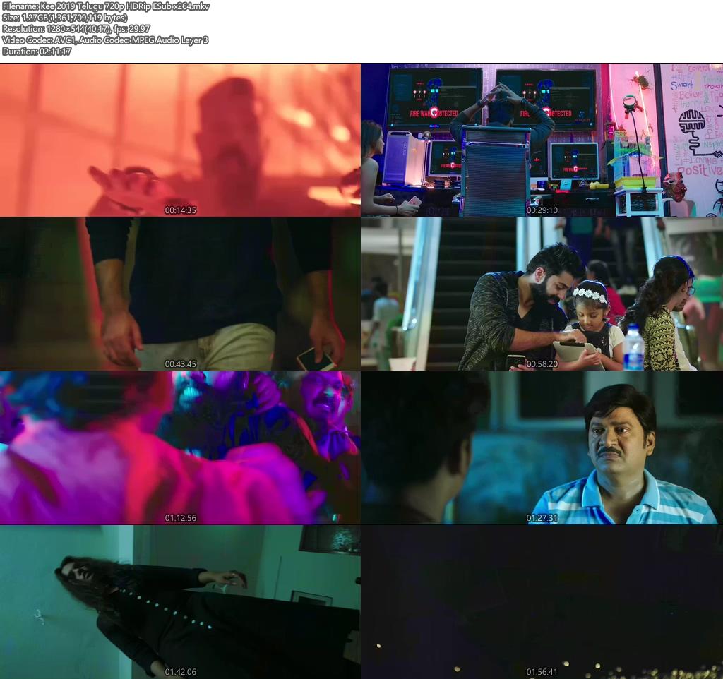 Kee 2019 Telugu 720p HDRip ESub x264 | 480p 300MB | 100MB HEVC Screenshot