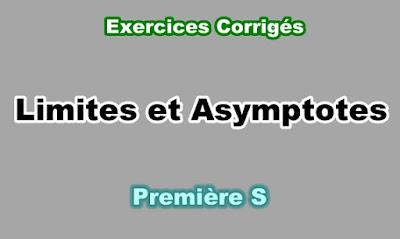 Exercices Corrigés de Limites et Asymptotes Première S PDF