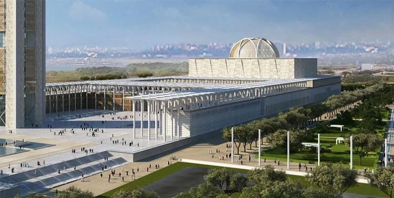 تفاصيل مسجد الجزائر الأعظم,ثالث أكبر مسجد في العالم,زخرفة مسجد الجزائر الأعظم