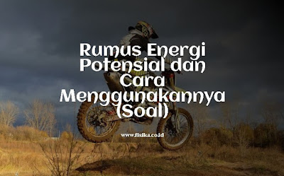 rumus energi potensial