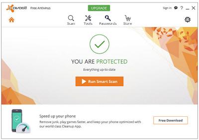 Avast! Free Antivirus 2016 Offline Installer