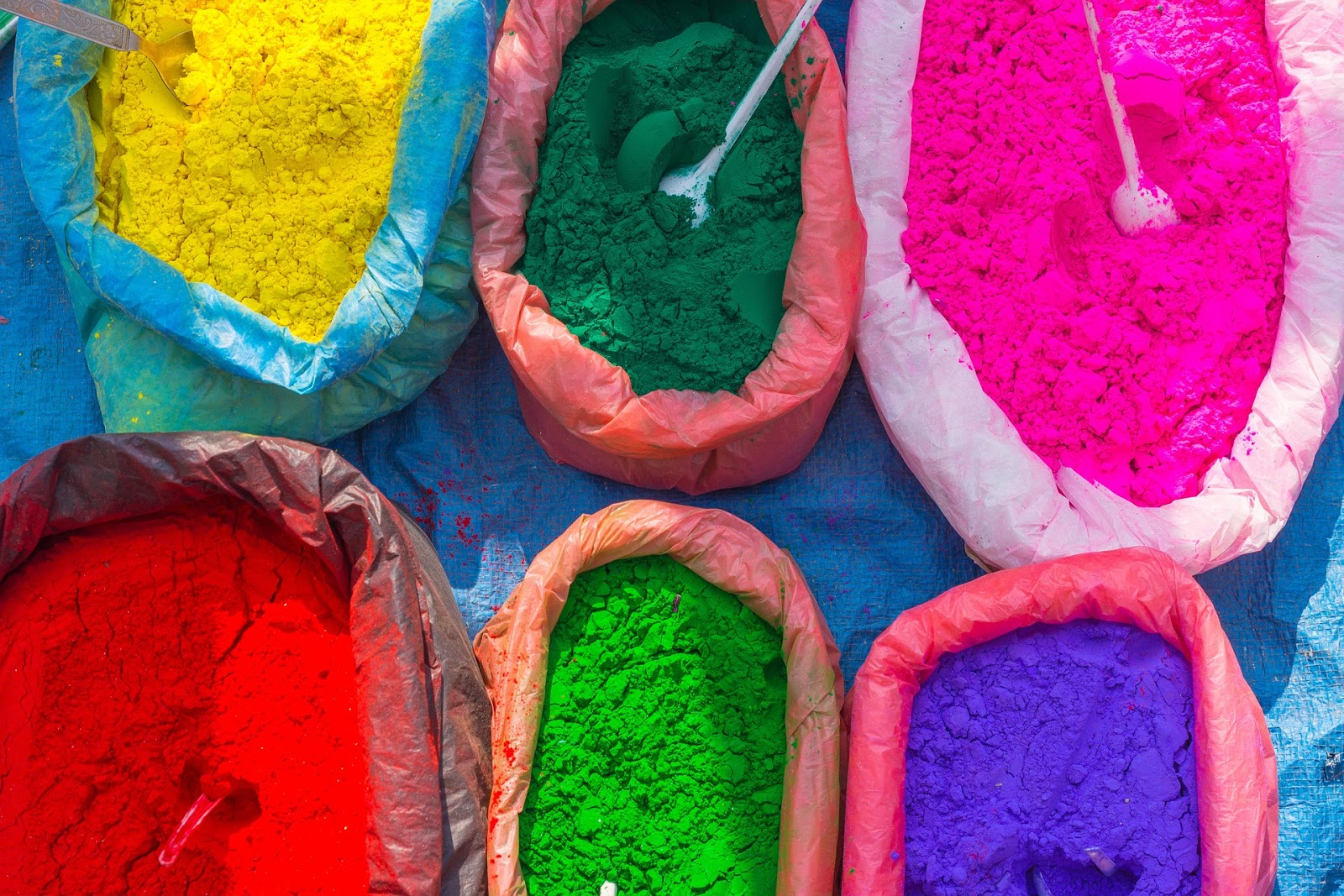 Why is Holi called the festival of colors in India 2020? - Bag with Colors