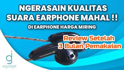 Manjain Telinga, No Debat !   Earphone DIY Sennheiser MX500 v2.0   Music & Gaming Test !