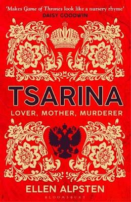 Tsarina by Ellen Alpsten book cover