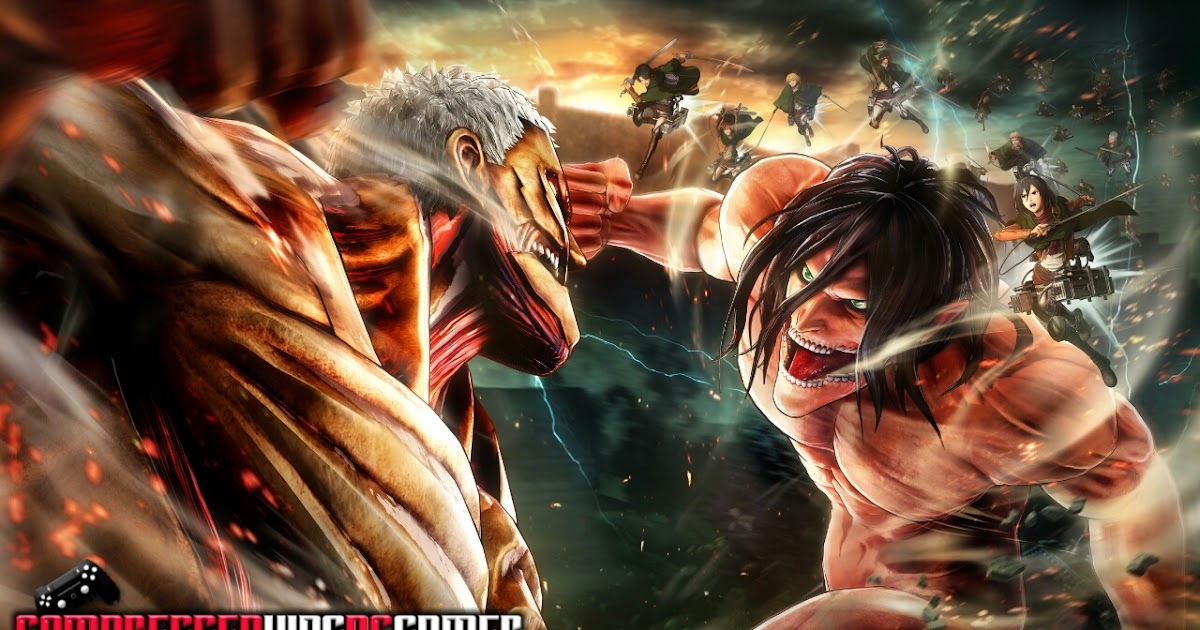 Attack On Titan For Pc Highly Compressed In 34Mb With ...