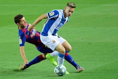 Video Barcelona 1-0 Espanyol: Sững sờ 2 thẻ đỏ, người hùng lên tiếng