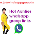 Hot Aunties whatsapp group invite links | collection of best group links