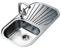 Teka Sink Dapur Stylo 1B 1D Stainless Steel - Anti Karat