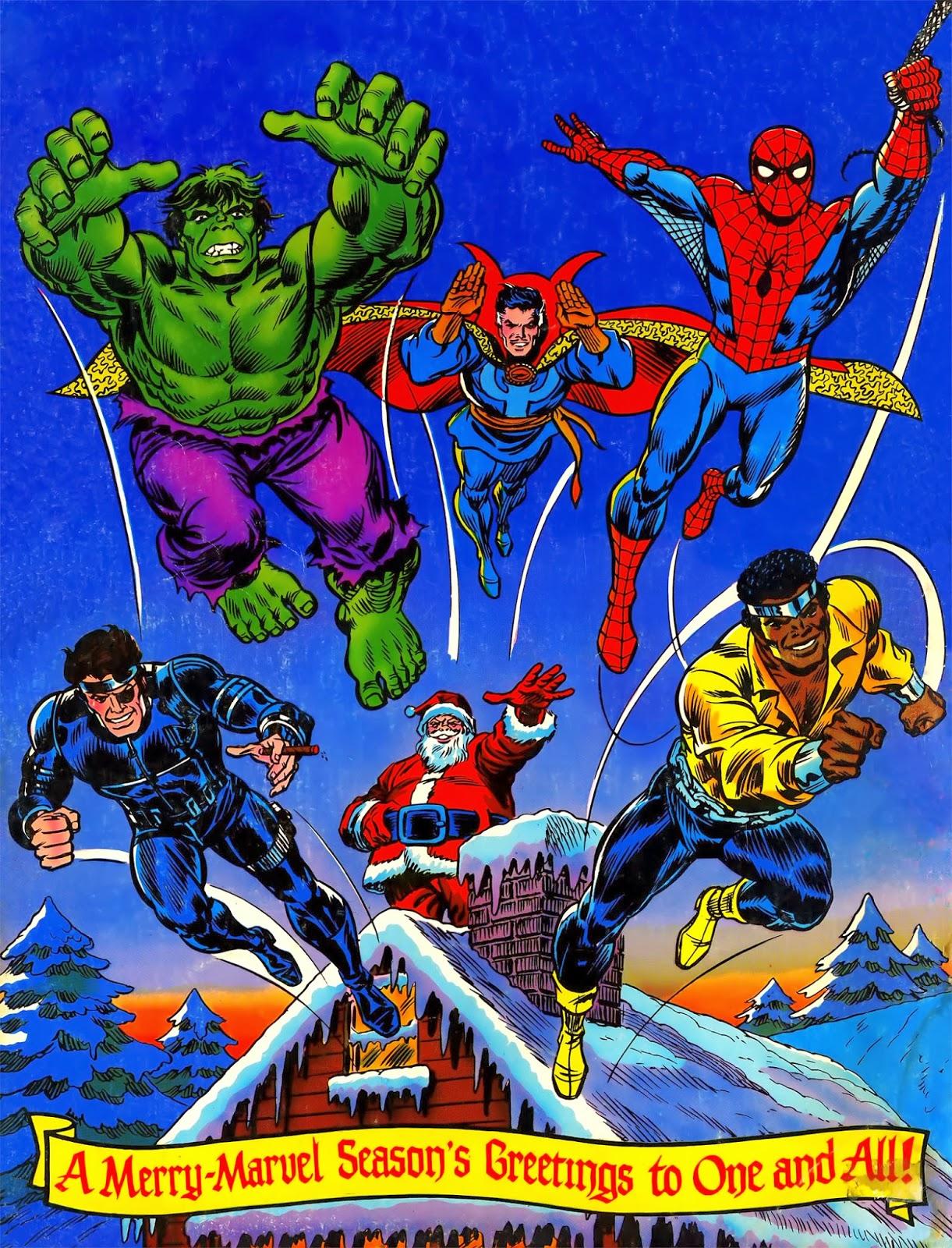 Marvel Giant Superhero Holiday Grab-Bag 1975