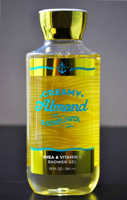 Curse Of The Almond & Golden Flower...Bath & Body Works' Creamy Almond & Sunflowers Shower Gel