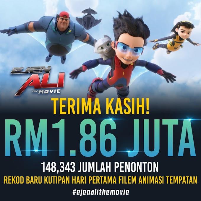 Review Ejen Ali : FILEM ANIMASI TERBAIK MALAYSIA