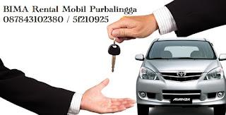 Rental Mobil Lepas Kunci Purbalingga