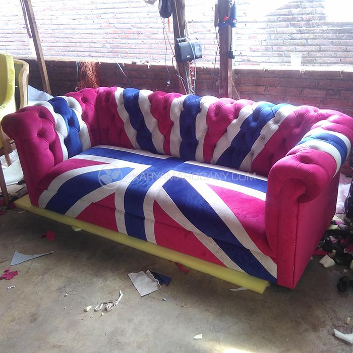 Sofa Chester Modern | Harga Sofa 3 Seater