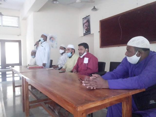 আত্রাই উপজেলা পর্যায়ে  জসতীয় ইমাম সম্মেলন