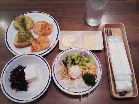 健康サラダバーランチ¥647-2 ステーキガスト一宮尾西店11回目